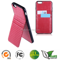 PU+TPU cover case for iphone6 plus specail cover with card pocket