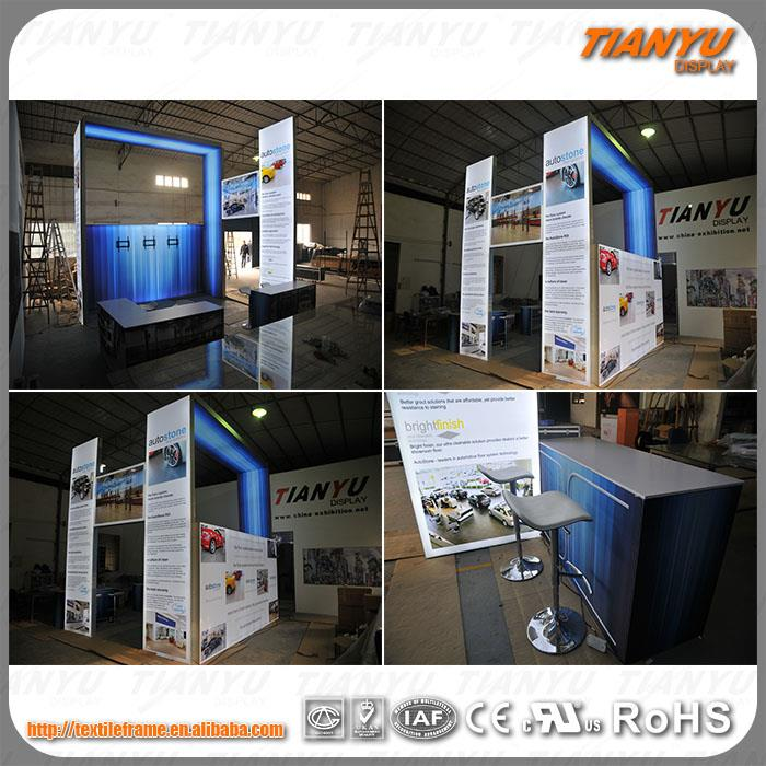Easy Install Advertising Lighting Trade Show Display