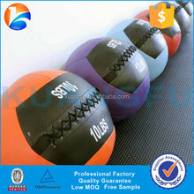PU Leather Medicine Ball for CrossFit