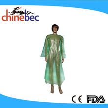 Transparent Long PVC Waterproof Raincoat Fabric