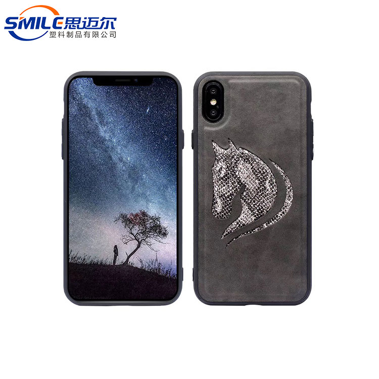 High quality TPU leather phone coverfor iphone X smart case