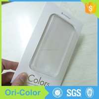 Printing PVC/PET plastic packaging box for iphone case