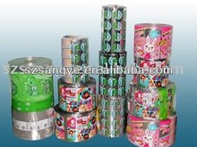 food packing custom printing laminated bopp/pet plastic film