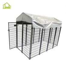 Black modular dog kennel supplier