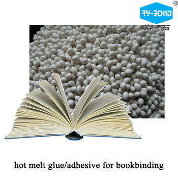 Hot melt glue for book spine and spine edge binding