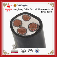 4 Cores 0.6/1kV Copper Conductor PVC Insulated PVC Sheath Low Voltage Power Cable for energy supply