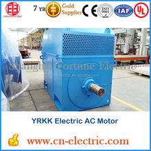 YRKK high voltage slip ring motor for cement mill ball mill