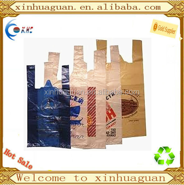 plastic PO side gusset wholesale cheap printed shopping bag