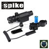 Spike Tactical red laser sight/infrared red dot laser pointer sight scope with 20mm tail used for hunting rifles scope