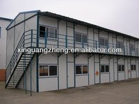 steel frame two storey building