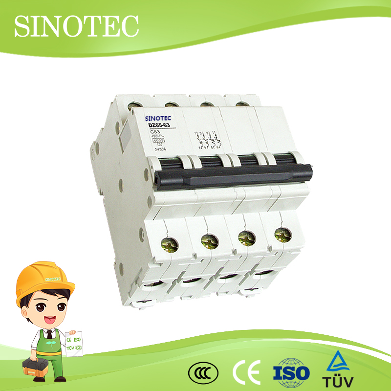 Instantaneous tripping type mini circuit breaker indoor high voltage vacuum indicator