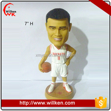 Basketball player resin funny bobble heads