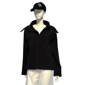 Softwell Women Clothing,Women Jacket with stand collar