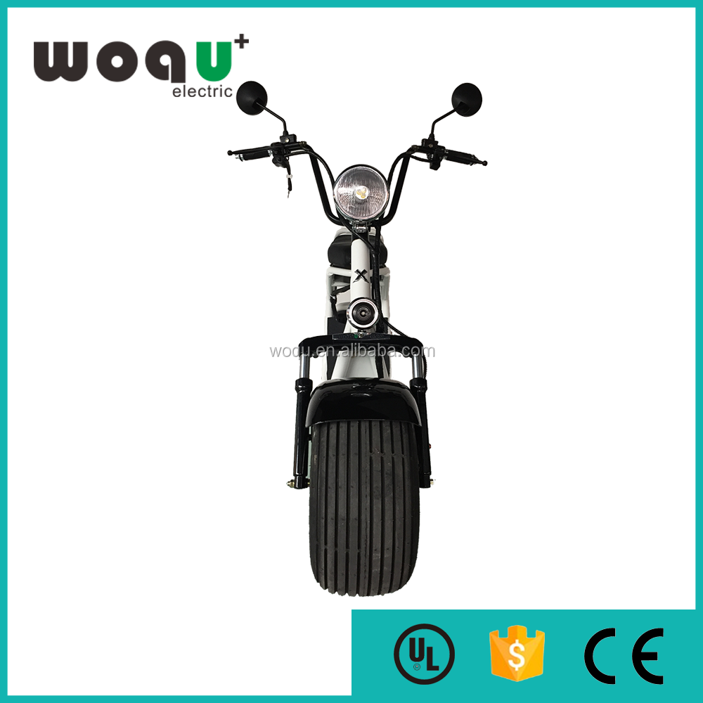 newest harley designfactory price electric motorcycle WOQU 48v 800w two wheel range 60-80km