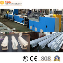 New style latest PC profile extrusion Production line