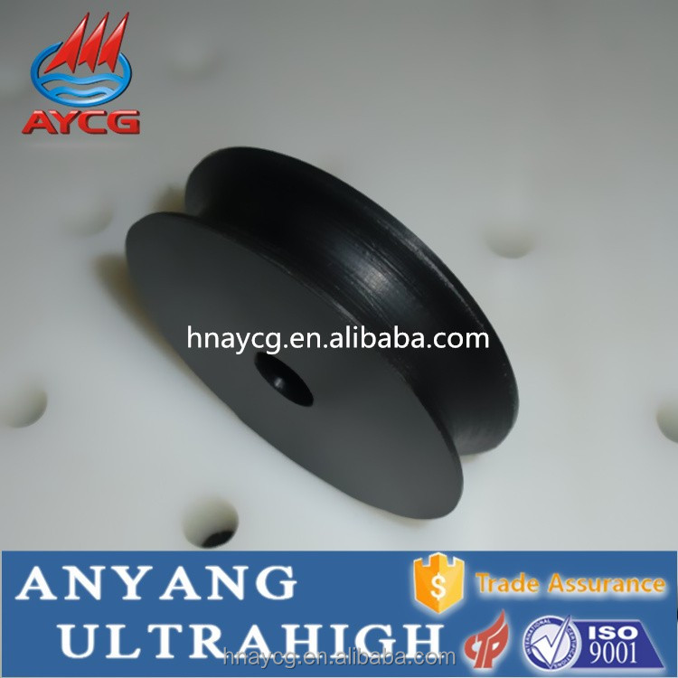 AYCG UHMW Nylon small rope pulley wheels