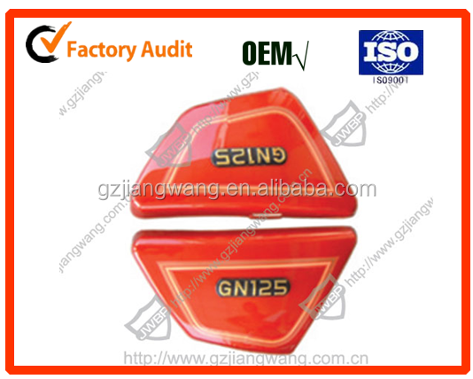 Fashion&Strong Motorcycle Side Cover/accessories for GN125/HJ150/BAJAJ CT100/BAJAJ PULSAR135