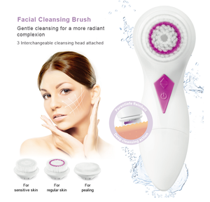 PRITECH Cleaning System Electric Portable Waterproof Facial Cleansing Brush
