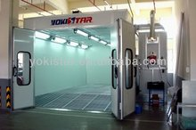 hot seller commercial spray booths are garage spray booth with RIELLO burner