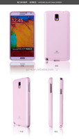 Original Multicolor Pearl Jelly Case(Goospery Mercury) TPU Mobile Phone Case For Samsung Note3 N9005 Made In China