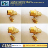 chinese factory OEM CNC brass pipe fitting