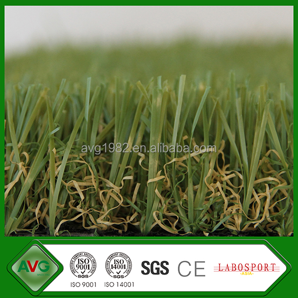 2016 HIgh Quality 35 MM Height Artificial Grass PE + PP Material Surfaces Soft For Lawns