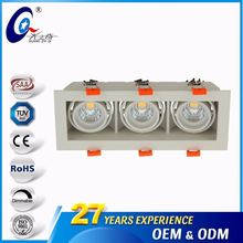 4000K/6000K 9Inch Ceiling Grill Economic Light Fittings Parts Led High Power Lamp