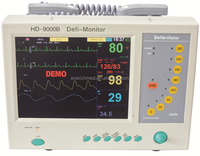 Defibrillator with a Monitor in Hospital (model HD-9000B)