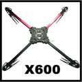 X600 V3 4-AXIS RC Multi-Rotor Glass Fiber Arms Quadcopter Frame Kit Set