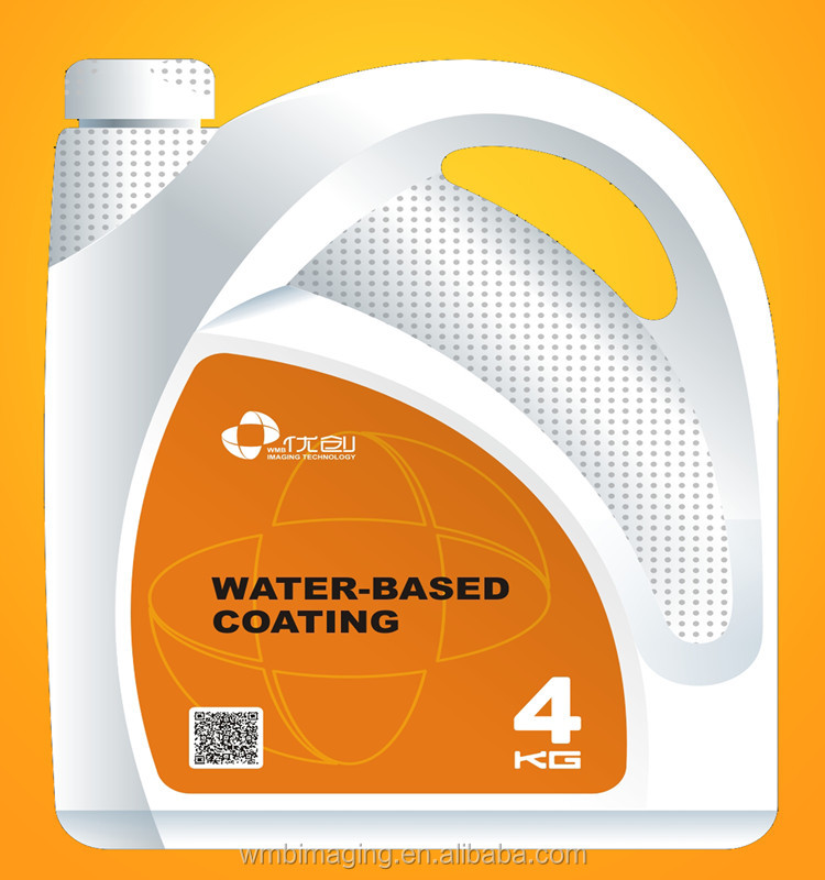 Water based paints latex adhesive or lacquer for all paper protection