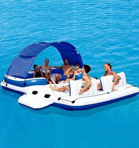 TUV Inflatable Floating Water Jumping Bed Inflatable Trampoline For Sale