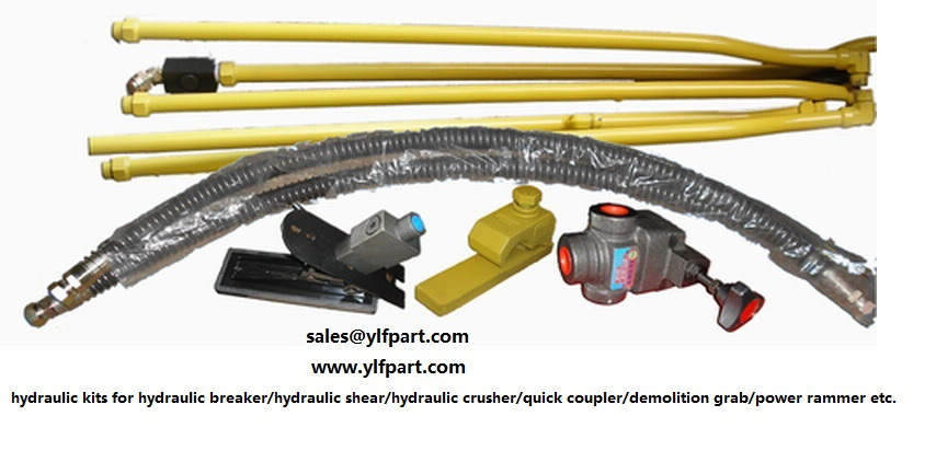 excavator attachment pipelines for jonyang JY644,JY200,JY210,JY230,JY300,JY320,JY400