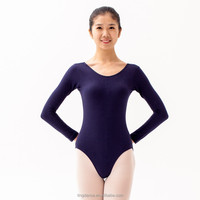 long sleeves women dance leotard