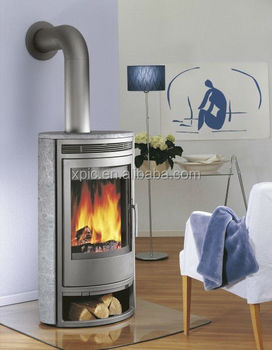 sandstone fireplace Germany style heating stove
