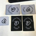 New design high quality customized high density woven labels