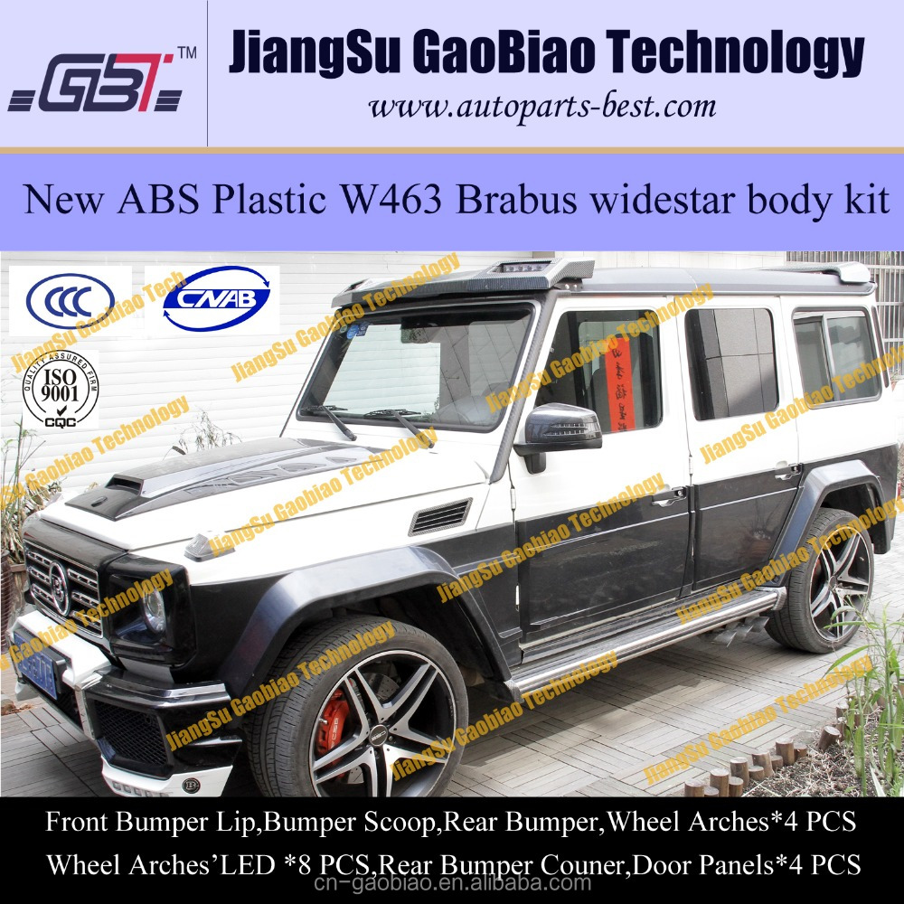 Barbus G800 plastic ABS body kit for mercedes benz