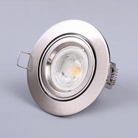 moveable 35W/50W/3W/5W/6W round spotlight gu10 die casting Aluminum recessed down light