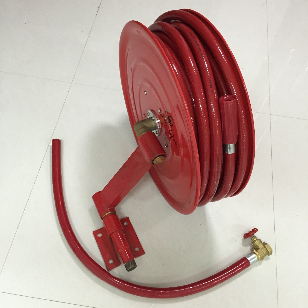 Durable Useful Fire Fighting Equipment various style Antique Metal Hose Holder