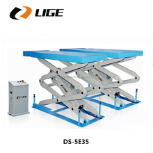 Full rise in-ground mounting scissor car lift for car repair equipment DS-5E35