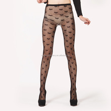 China OEM In-stock heart wide stripes fishnet tights,fishnet pantyhose,fishnet stockings women