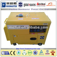 5kva silent diesel generator with strong battery
