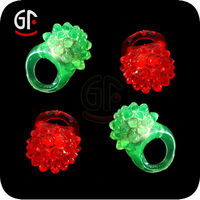 Party Items From China Latest Types Led Flashing Finger Ring