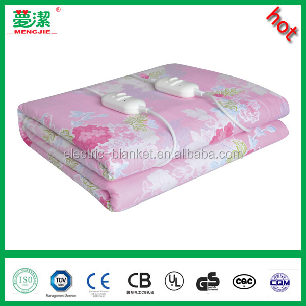 cotton electric blanket