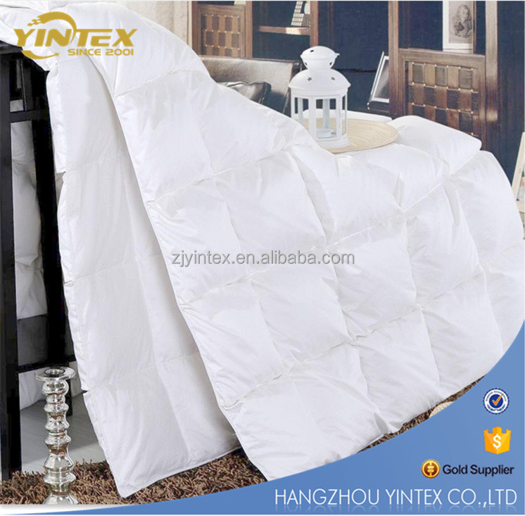 Sample provide Hotel Use soft healthy Goose Down Duvet