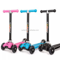 ISCOOT PRO, GOLD WHEELS, OLLIE, L-cruiser kids kick folding four wheel scooter