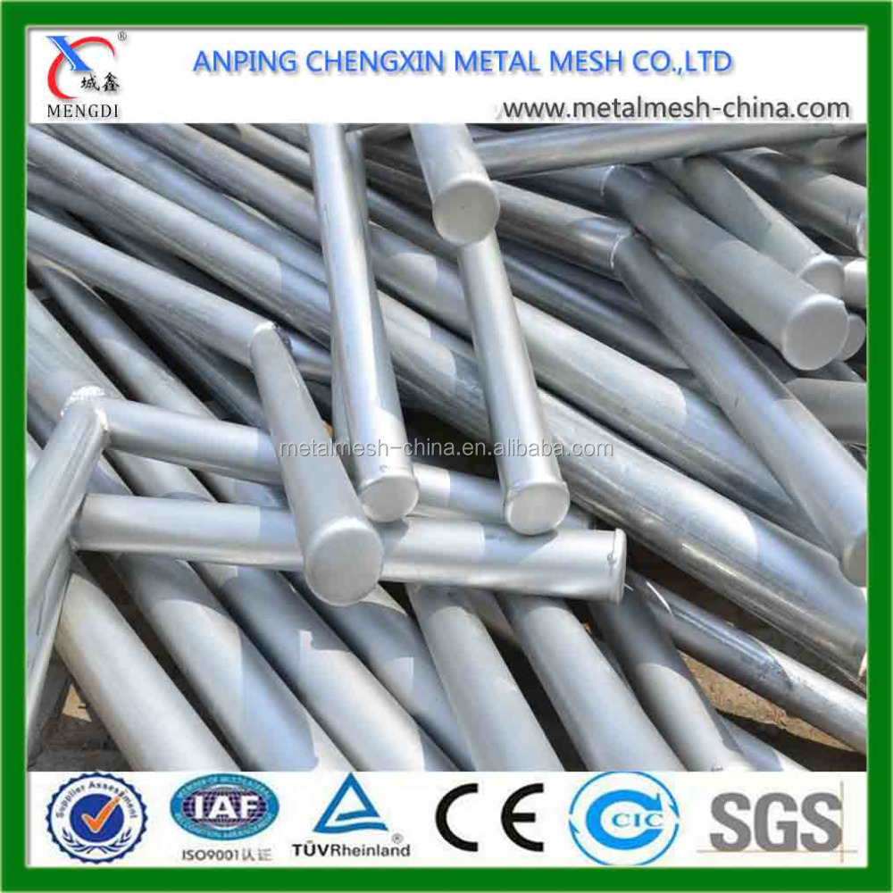 POWER COATED Y post for chain link fence/Manufacture in Anping