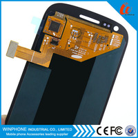 alibaba express online selling white/black/blue color AAA lcd for samsung S3 mini lcd screen high quality