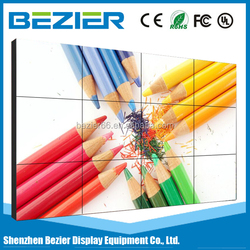 55 Inch New Ultra Narrow Bezel 3x3 HD video tv video wall video wall screen LCD Video Wall with good quality