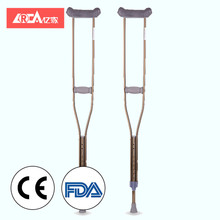 YIJIA 2018 canes for the blind wooden walking stick cane Axillary crutch