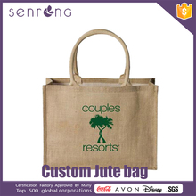 Jute Wine Tote Bag Grey Jute Bag
